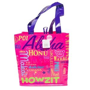 Handbags - New~ Hawaii Aloha Reusable Eco Tote Bag